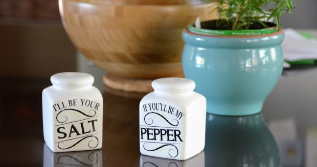 I'll be your SALT if you'll be my PEPPER.